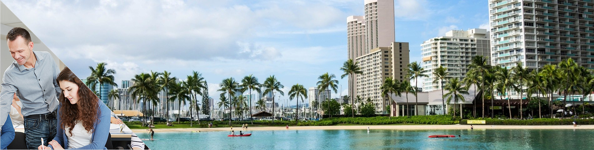 Honolulu - Combi: Groupe + particuliers