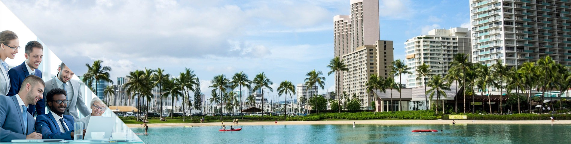 Honolulu - Business en Groupe