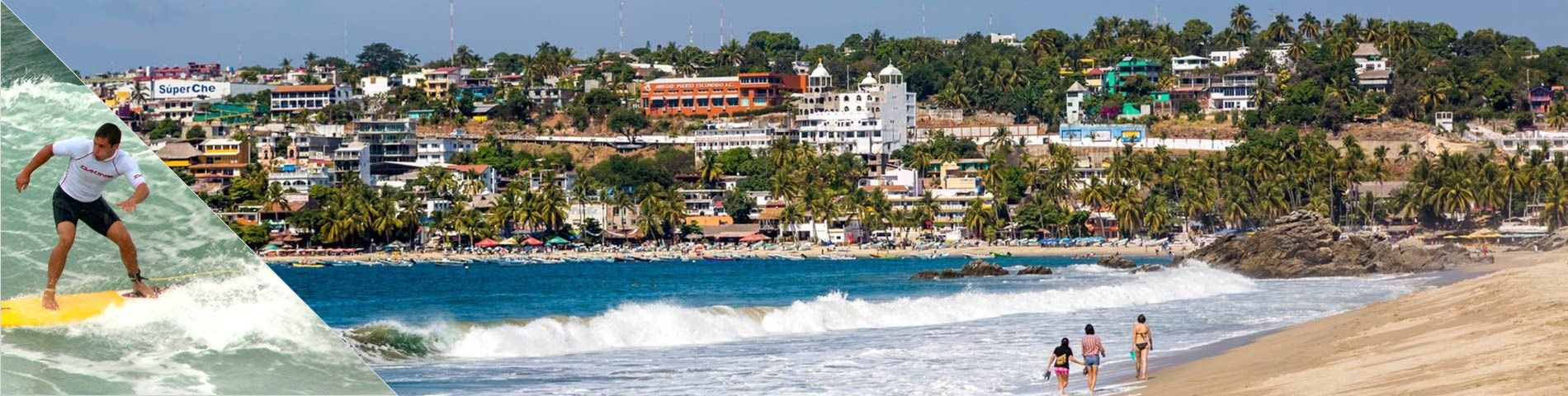 Puerto Escondido - Spanish & Surf