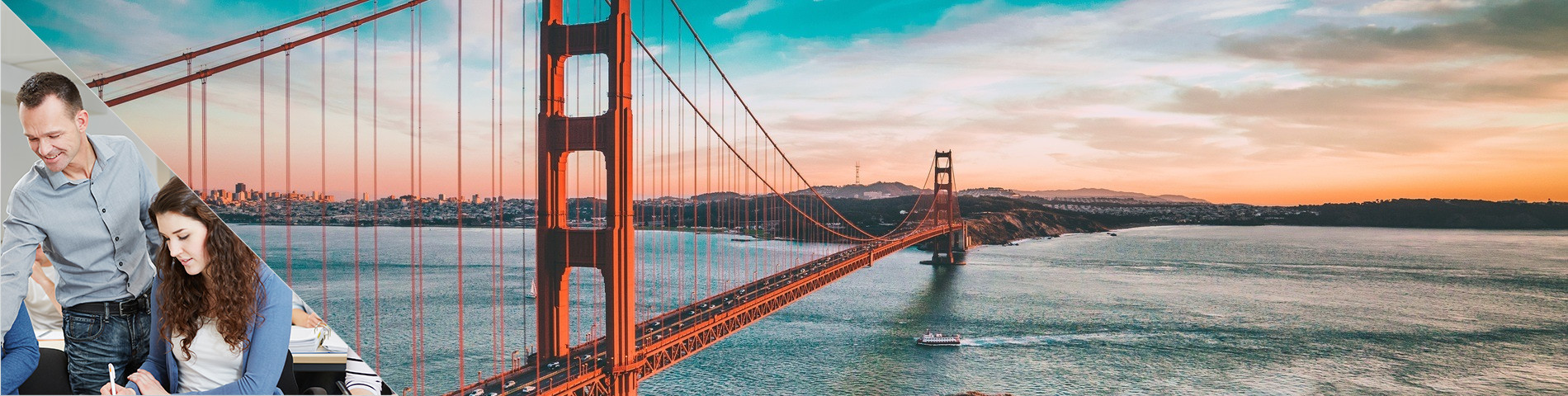 San Francisco - Combi: Groupe + particuliers