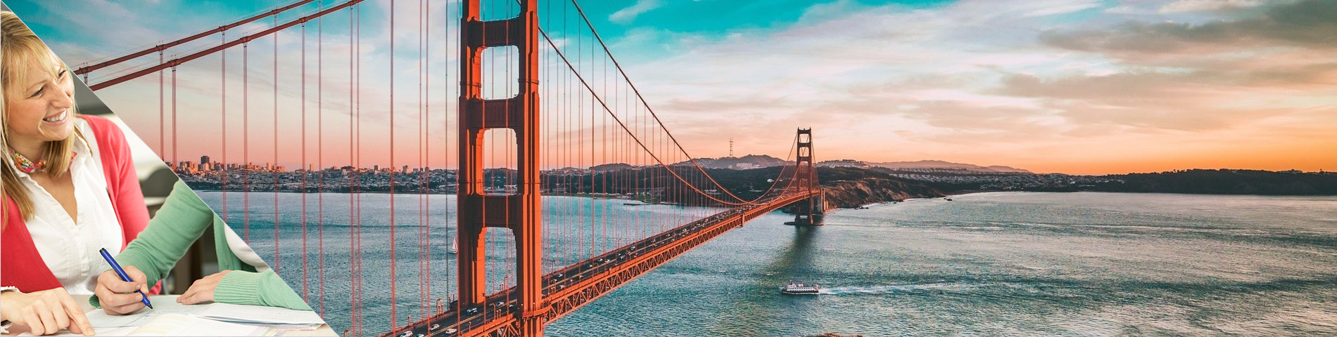 San Francisco - Learn a Language & Live with Teacher