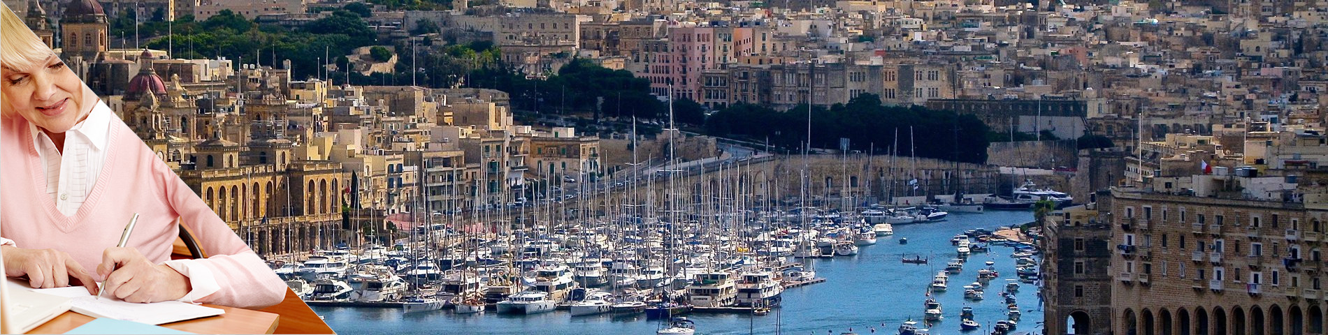 Valletta - Seniorkurs (50 plus)