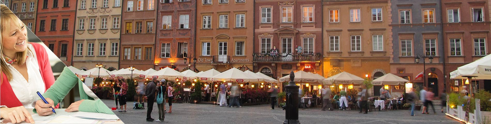 Warsaw - Learn a Language & Live with Teacher