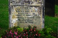 Grave of Anne Brontë