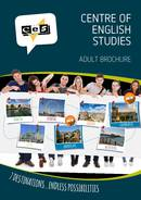 Centre of English Studies (CES) Brochure (PDF)