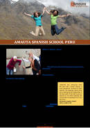 Amauta Spanish School Brochure (PDF)