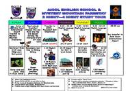 Schedule of activities - juniors (PDF)