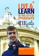 CIE - College of International Education Broschyr (PDF)