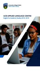 UCD Applied Language Centre Brochure (PDF)