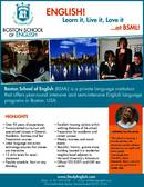 Boston School of English Брошура (PDF)