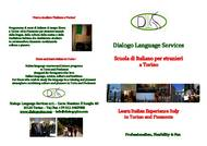 Dialogo Language Services  עלון (PDF)