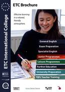 ETC International College الكتيبات (PDF)