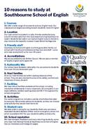 Southbourne School of English Брошура (PDF)