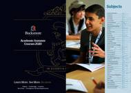 Bucksmore English Language Summer School King Edward's School Broschyr (PDF)