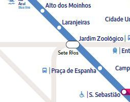 Lisbon Public Transport Map