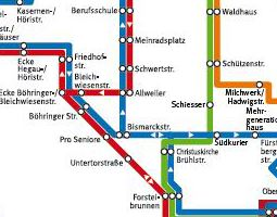 Radolfzell Public Transport Map