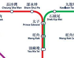 Hong Kong Public Transport Map