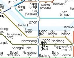 Seoul Public Transport Map