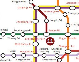 Shanghai Public Transport Map