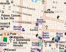 San Jose Carte de transport public
