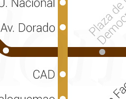 Bogota Public Transport Map