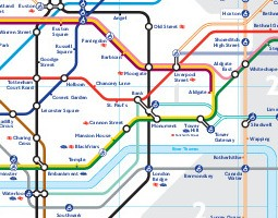 London Public Transport Map