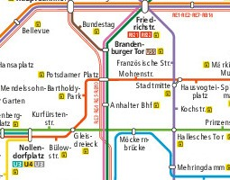 Berlin Public Transport Map