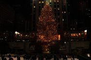 Rockefeller Center Christmas Tree Lighting Ceremony, NYC