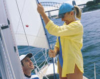 Sailing and language school