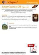 Junior (<18 lat) CIE - College of International Education (PDF)