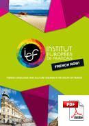ภาษาฝรั่งเศสและวัฒนธรรม Institut Européen de Français (PDF)