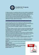 ภาษาสเปนและเป็นอาสาสมัคร Academia Uruguay (PDF)