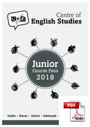 Juniori (alle 18 vuotta) Centre of English Studies (CES) (PDF)