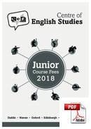 Curso Júnior (6-18 anos) Centre of English Studies (CES) (PDF)