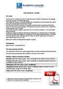 Yetişkin Kursu (>50 ) Accademia Leonardo (PDF)