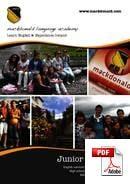 ジュニアコース(18歳未満) Mackdonald Language Academy (PDF)