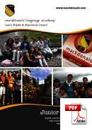 Curs junior (6-18 ani) Mackdonald Language Academy (PDF)