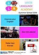 การเตรียมความพร้อมด้านวิชาการ / Pathway Leeds Language Academy (PDF)