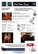 Francia Kulturális nyelvtanfolyam (kombinált) France Langue Paris Notre Dame (PDF)