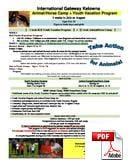Junior Kursus (6-18 år) International Gateway Kelowna (PDF)