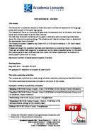 Senior (50 ke atas) Accademia Leonardo (PDF)