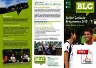 Juniori (alle 18 vuotta) BLC - Bristol Language Centre (PDF)