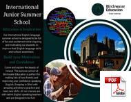 หลักสูตรสำหรับเยาวชน (อายุ 6-18 ปี) Birchwater Education (PDF)