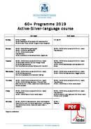 シニアコース(50歳以上) Piccola Universita Italiana (PDF)