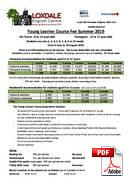 Junior Course (6-18 years) Loxdale English Centre (PDF)
