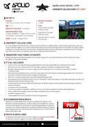 Juniori (alle 18 vuotta) Apollo Junior Centre (PDF)