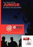 Juniori (alle 18 vuotta) Easy School of Languages (PDF)
