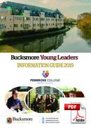 Curs junior (6-18 ani) Bucksmore English Language Summer School Pembroke College (PDF)
