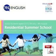 Junior Kursus (6-18 år) TEG English (PDF)