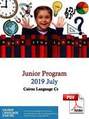 Kurz Junior (do 18 let) Cairns Language Centre (Eurocentres) (PDF)
